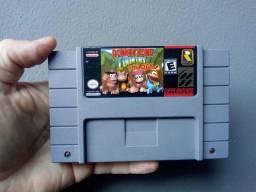 Donkey Kong Trilogia Super Nintendo