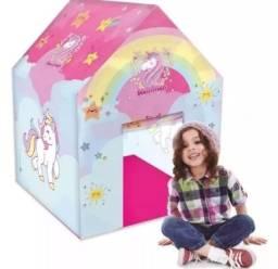 Casinha infantil ...tema unicornio.