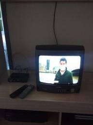 Tv 14 polegadas com conversor digital