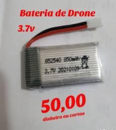Bateria p/ mini Drones de 3.7v 850mAh