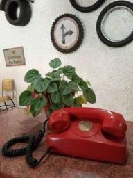 Telefone antigo para decorações