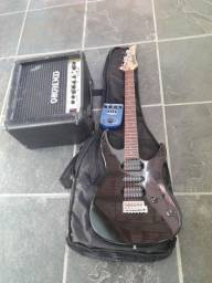 Guitarra completa 3x no cartão