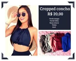 Roupas Novas - croppeds, shorts, lingerie