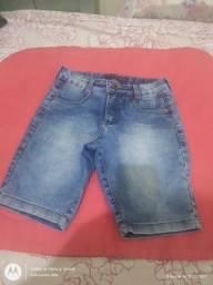 Calça jeans  e bermudas variadas
