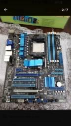 M4a88td-v evo/ Usb3 + Processador