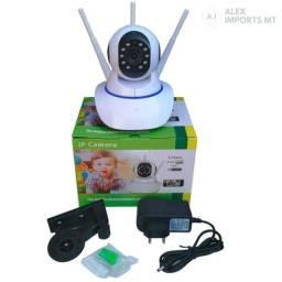 camera 3 antenas possibilita receber sinal Wi- fi três vezes mais rápido.