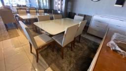 Título do anúncio: Mesa de 6 cadeiras de madeira maciça