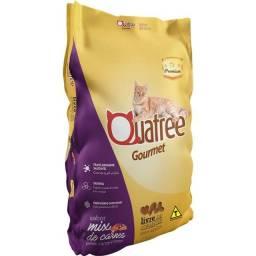 Ração Quatree Gourmet Mix de Carnes Gatos Adultos 20kg