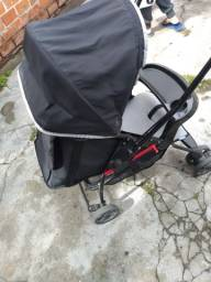 Carrinho de bebê Galzerano reversível