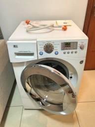 Máquina de Lavar e Secar 10kg da Lg Entrego