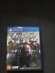 Vendo ou Troco Avengers PS4