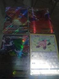 Vendo 41 cartas de pokémon