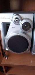 Som Aiwa antigo manutenção no mecanismo do cd