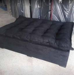 sofá cama super fofão em  promoção