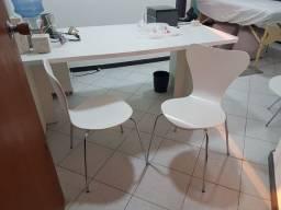 2 cadeiras Otta Brancas - Tok Stok