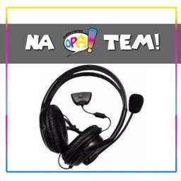 Fone De Ouvido Headset Headphone Para Xbox 360 Preto