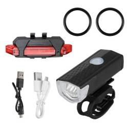 Kit Luz de segurança para Bike recarregáveis