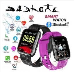 Smartwatch 116plus Bluetooth  Relogio Esportivo a Prova D 'Gua