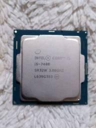 I5 7400 Semi novo