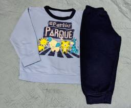Pijama e camisetas manga longa - tamanho 3