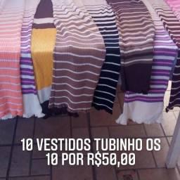 10 Vestidos Tubinhos