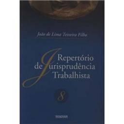 Livro Repertório de Jurisprudência Trabalhista Volume 8 João de Lima Teixeira Filho