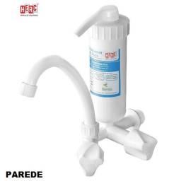 Torneira Plástico Reforçado  Parede C/Filtro 1/2 e 3/4 Herc