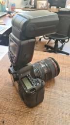 Canon 6D + Lente + Flash Canon RT