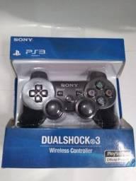 Controle PS3 Sony original Double shock 3 (aceito cartão e pix)