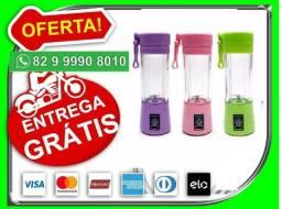 Te-Entregamos-Hj.Eh-gratis->Mini liquidificador portatil 6 laminas