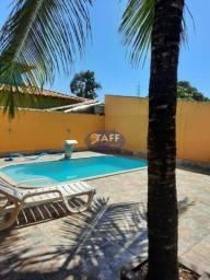 RE#Linda casa 2 quartos sendo 1 suite com piscina,churrasqueira em Unamar- Cabo Frio!!