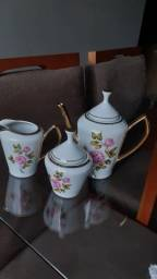 Título do anúncio: Jogo de Chá porcelana POZZANI
