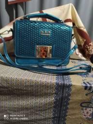 Bolsa azul S.Y.S fashion