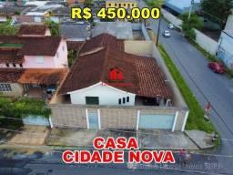Casa de Esquina na Cidade Nova, 375m² Terreno, Prox. Atacadão Max Teixeira