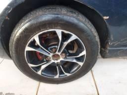 Somente as rodas( sem pneus)