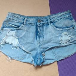Short Jeans Super Destroyed Farm