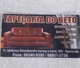 Fabricamos sofá e reforma
