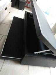 Box baú auxiliar solteiro 88x188 Preço de fabrica só 549,00!!