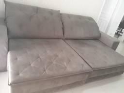 Sofá retrátil (semi-novo)