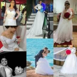Vestido de Noiva Aluguel