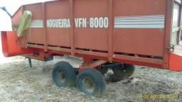 Vagão forrageiro seminovo - VFN8000 - Nogueira
