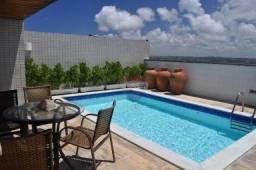 Excelente cobertura triplex, com piscina privativa, vista panorâmica, beira mar piedade
