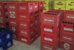Engradados de cerveja 600ml e Refrigerante pequeno (KS)