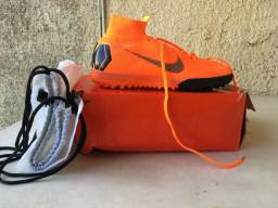 Chuteira Nike superfly 360 original laranja