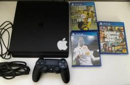 Playstation4 Slim 500gb na caixa
