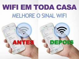 Amplificador de WiFi para Roteador e Modem