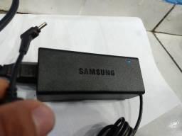 Fonte Notebook Samsung 19V Ponta Fina Original Garantia 5 Meses Testamos na Hora