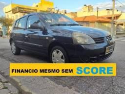 Renault Clio hatch financio sem score