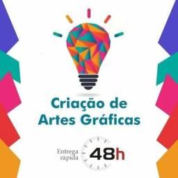 Criação de Artes Gráficas Online!