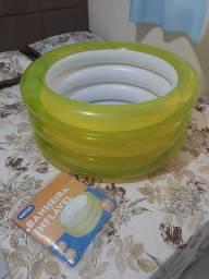 Vendo banheira inflável/piscina
